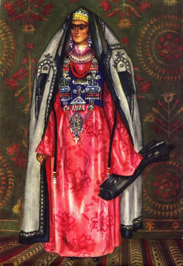 Национальная одежда народов Таджикистана