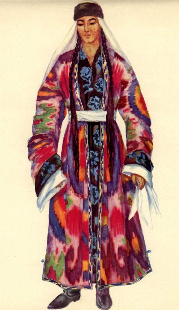 На�ионал�ная одежда на�одов Таджики��ана