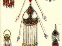 Ювелирные украшения таджичек горных и равнинных районов