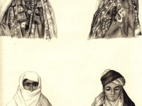 Головные уборы таджичек горных и равнинных районов