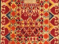 Свадебная лицевая занавеска таджичек горных районов - рубанд или чашмбанд