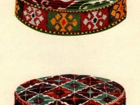 Современные тюбетейки таджиков горных районов