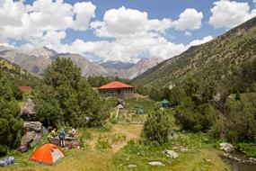 Альпинистский лагерь Вертикаль