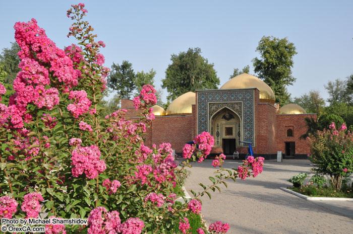 город Куляб - Мавзолей Мир Сайида Али Хамадони