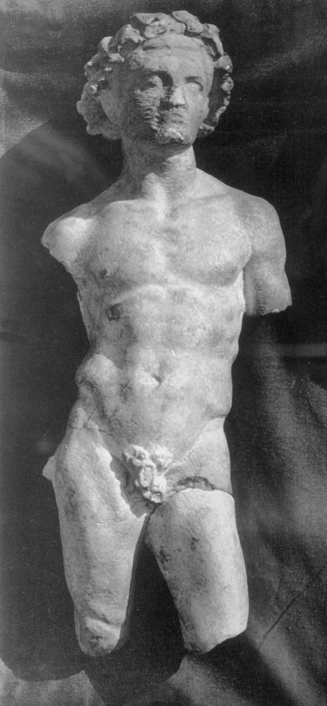 Статуя юноши. Известняк. 3 - 2 в. до н.э. Ай-Ханум