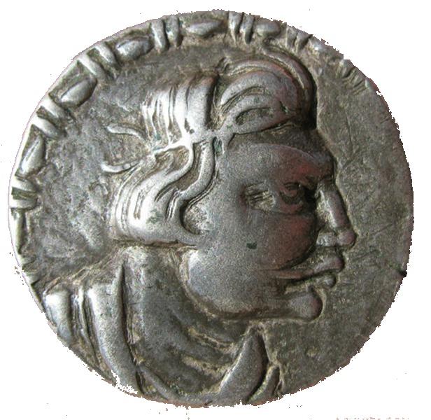 Начальный период Кушанского царства. Монета Герая (лицевая сторона)