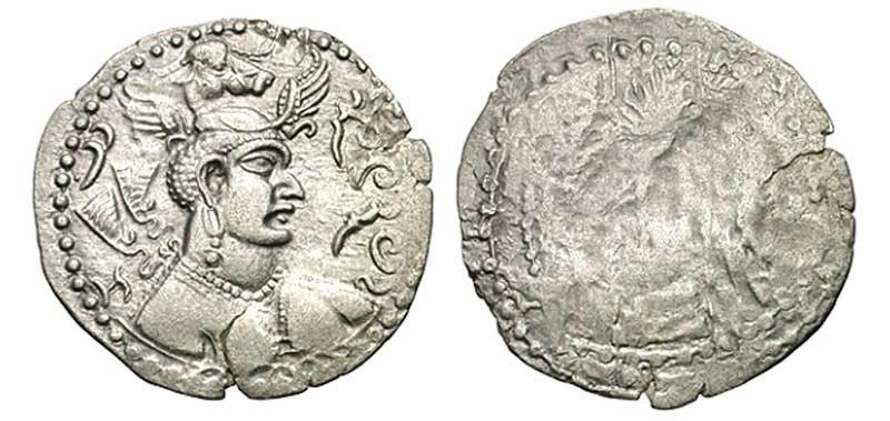 Эфталиты - Эфталитская монета