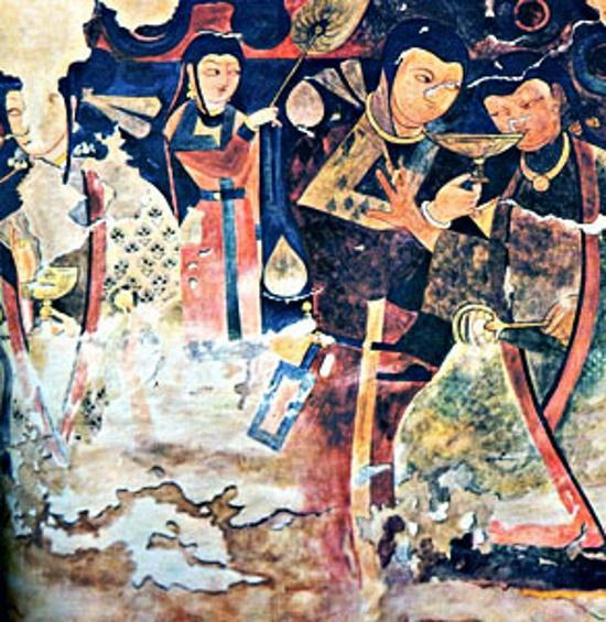 Искусство Тохаристана в VI - начале VIII в. Знатные дамы на росписях Балалык- тепе
