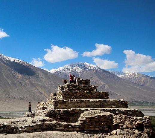 Религия Тохаристана в VI - начале VIII в.. Древний зороастрийский храм в Бадахшане