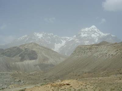 Рельеф Таджикистана