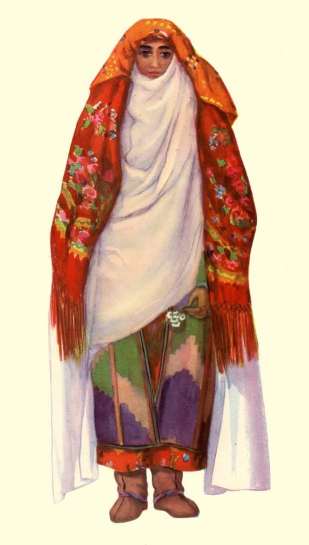 картинки национального костюма таджикистана содержат красящий пигмент