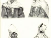 Современные головные уборы таджичек равнинных районов
