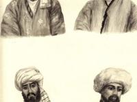 Старинные головные уборы таджиков равнинных районов