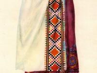 Современный костюм молодой женщины из Куляба (Южный Таджикистан)