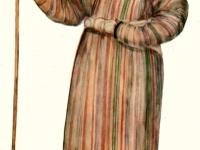 Старинный костюм пожилого крестьянина из Дарваза (Горный Таджикистан)