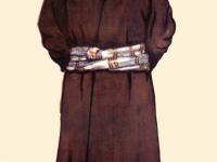 Современный костюм старого крестьянина из Шугнана (Западный Памир)