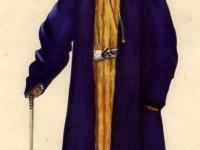 Старинный костюм пожилого горожанина