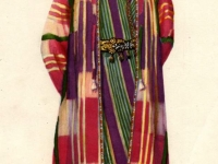 Старинный костюм молодого мужчины из Самарканда