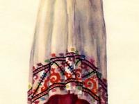 Современный костюм невесты из Куляба (Южный Таджикистан)
