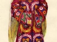 Современный костюм молодой женщины из к. Нушор (Горный Таджикистан, Каратегин)
