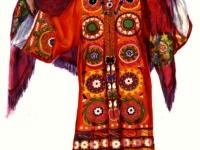 Современный костюм молодой женщины из Калаи-Хумба (Горный Таджикистан, Дарваз)