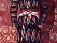 Традиционный костюм жениха из Ленинабада, бытовавший до последнего времени