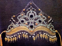 Наголовное украшение «коштилло». Таджикистан. Конец XIX – начало XX века.