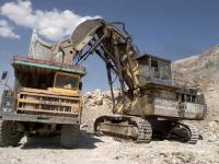 СП Зарафшон - Погрузка руды на карьере