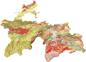 Геология Таджикистана
