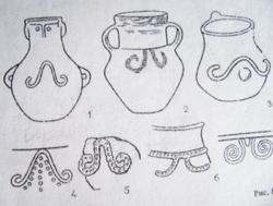 Каменный век Таджикистана. Графический знак «Рога барана».
