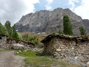 Альпинистский лагерь Варзоб - Янгобская стена