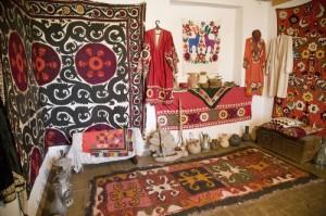 Традиционная архитектура Таджикистана - Интерьер жилого дома таджиков Южного Таджикистана