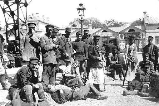 Хитровский рынок. Снимок сделан между 1900−1910 годами. Фотография:pastvu.com