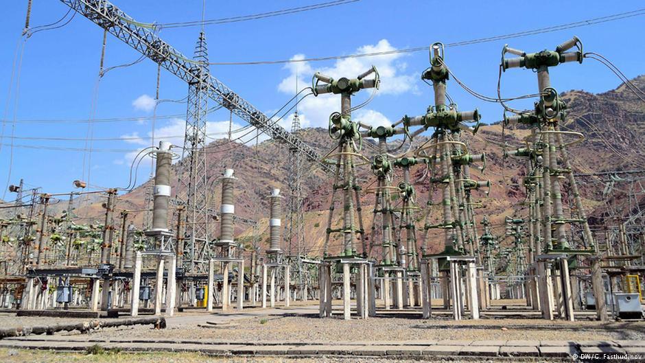 Трансформаторная станция в Таджикистане