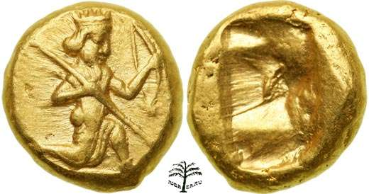 Ахеменидская монета дарик