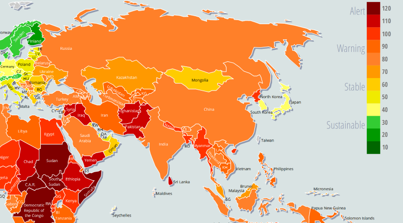fragile states index 2014