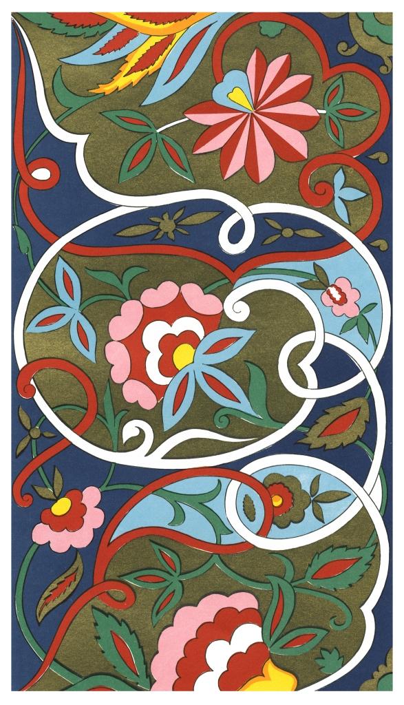 Таджикский орнамент