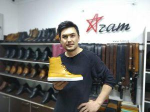 Рынок обуви Таджикистана -